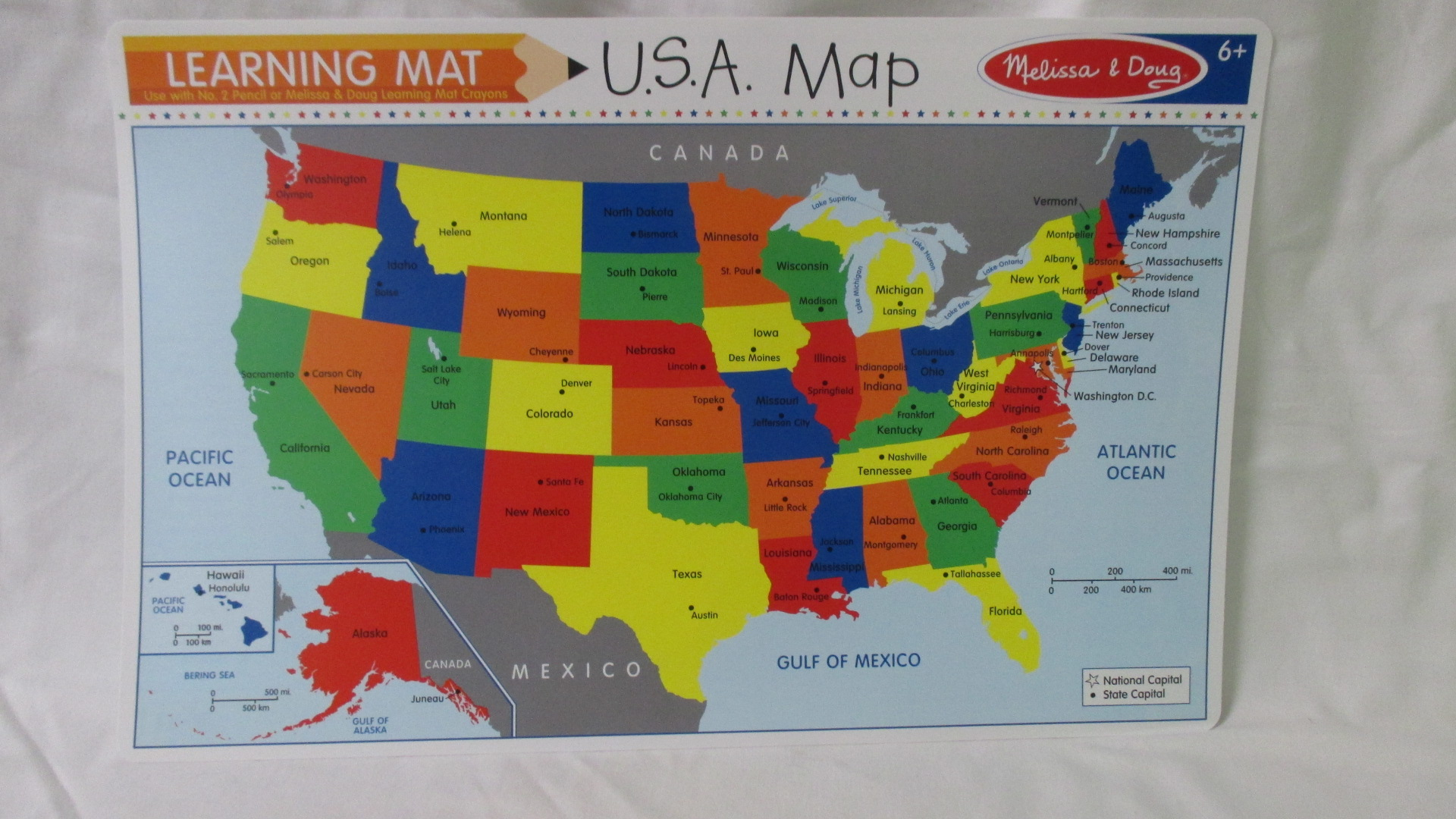 Usa Map Puzzles Online.U S A Map Learning Map
